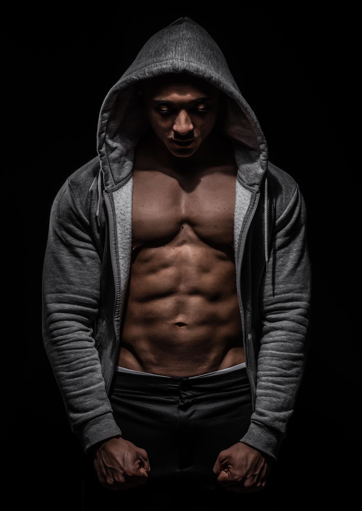 Wesley fotograaf Marty Kooman Marty's Vsion Kapelle Zeeland Holland portret bodybuilding mannen